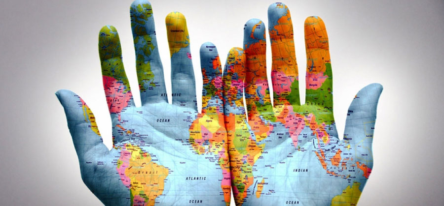 hand-world